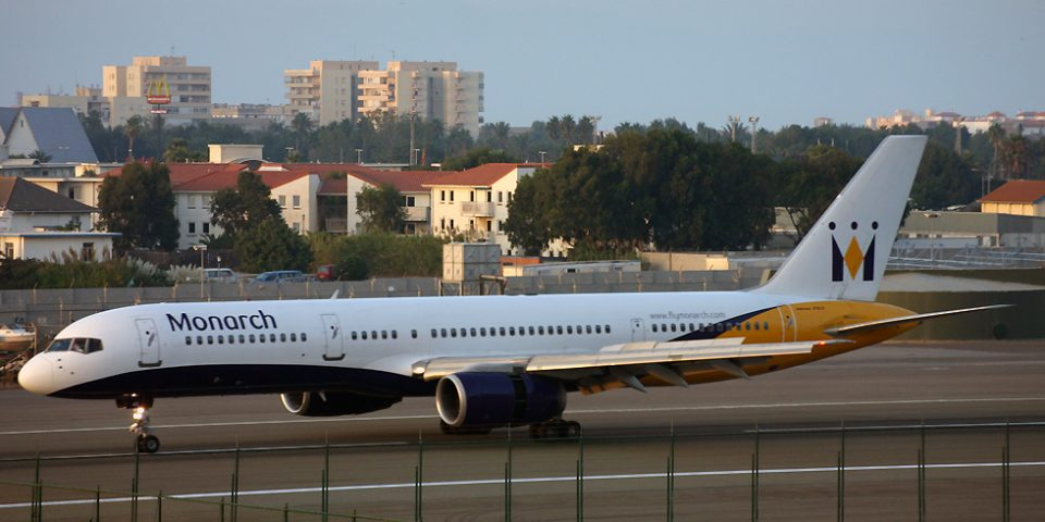 G-MONC, Monarch, B757-200