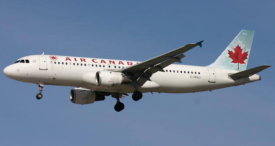 C-FKOJ, Air Canada, A320