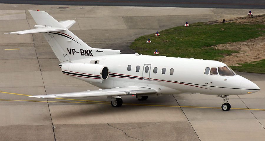 VP-BNK, Hawker 800