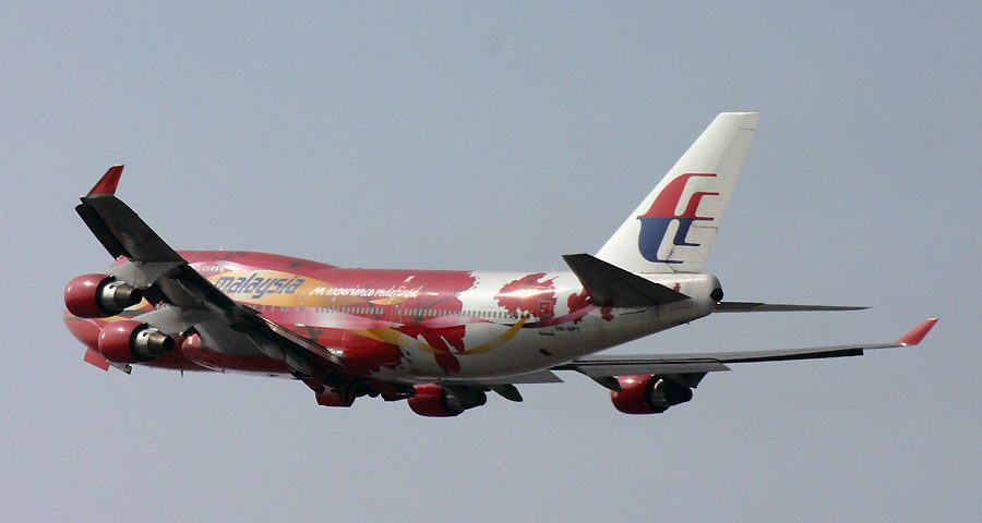 9M-MPB, Malaysia, B747-400, Hibiscus