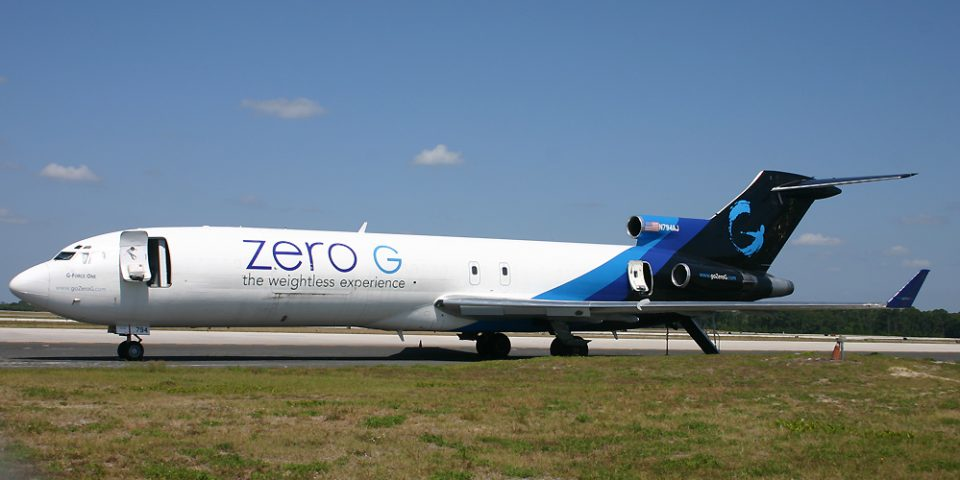 N794AJ, B727, AmeriJet, Zero G