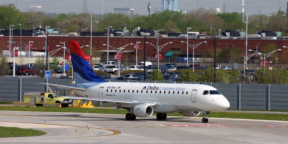 N661RW, Delta, Embraer 170