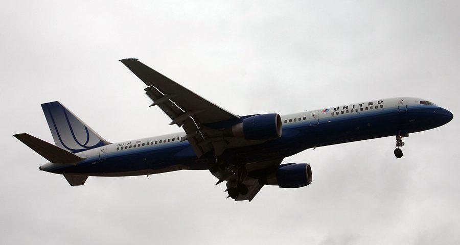 N527UA, United, B757-200