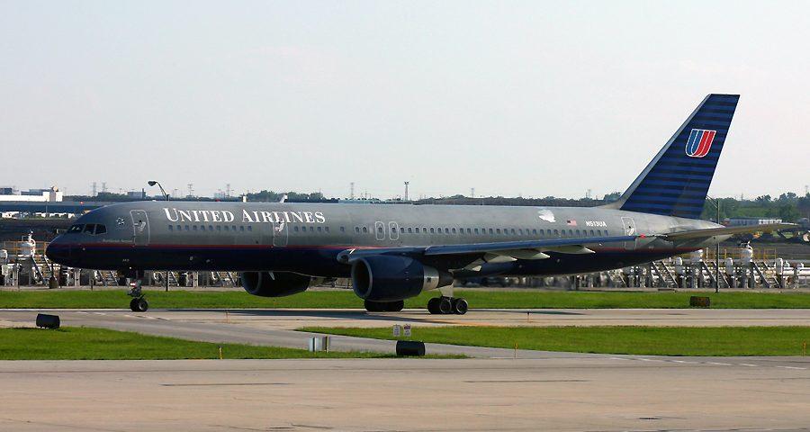 N513UA, United, B757-200