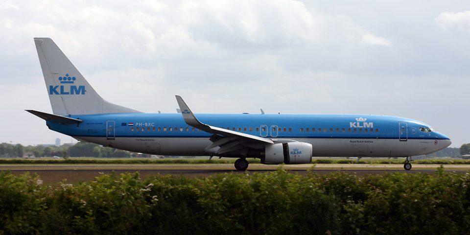 PH-BXC, KLM, B737-800