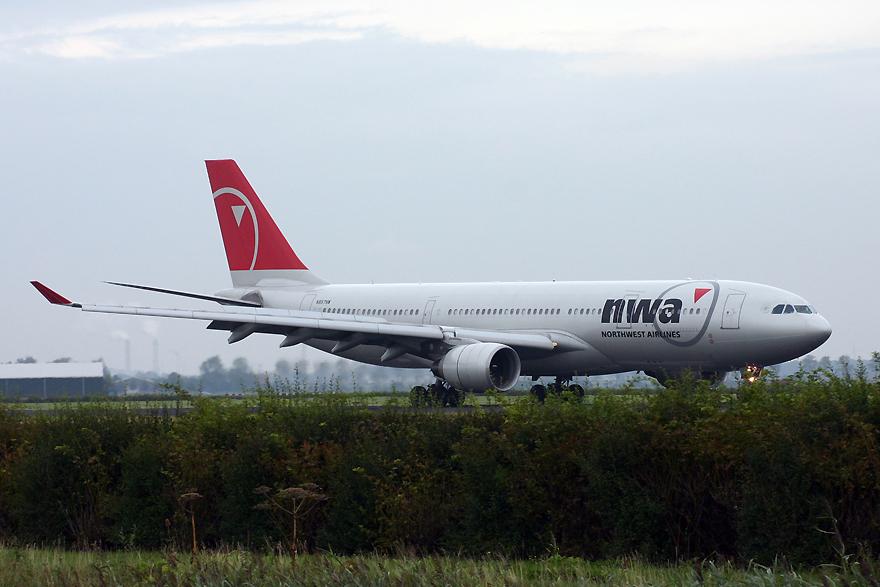 N857NW, Northwest, A330-200