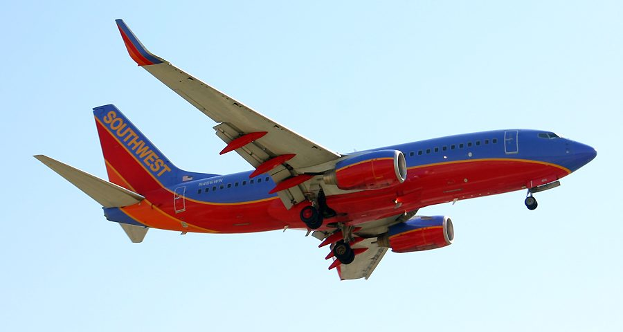 N456WN, Southwest, B737-700