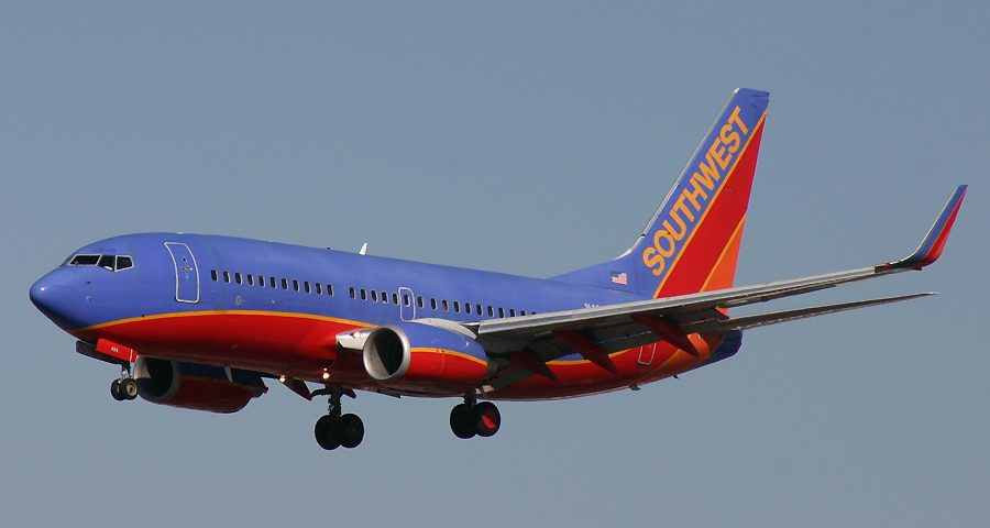 N484WN, Southwest, B737-700