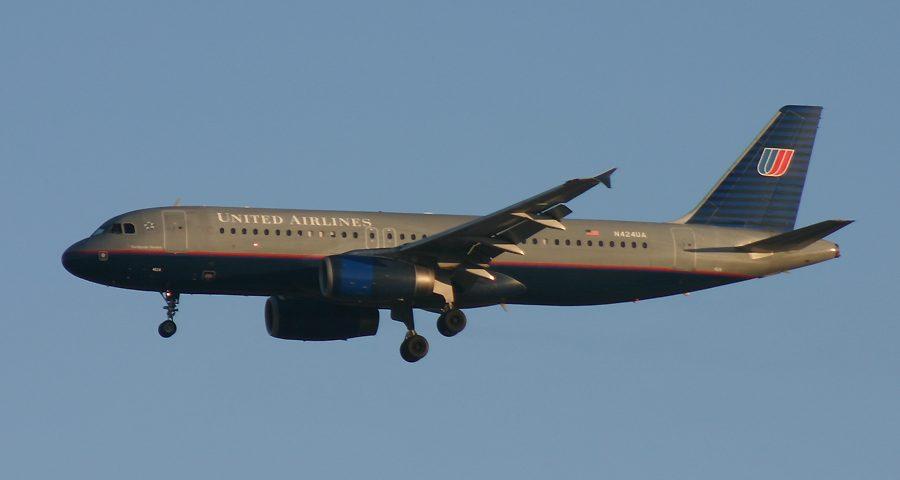 N424UA, United, A320