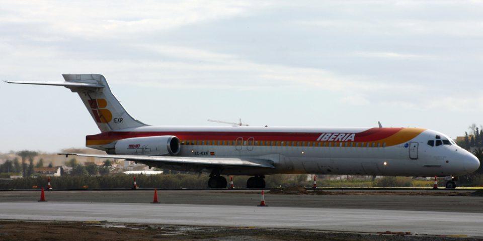 EC-EXR, Iberia, MD-87