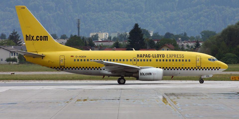 D-AGEN, Hapag-Lloyd Express, B737-700