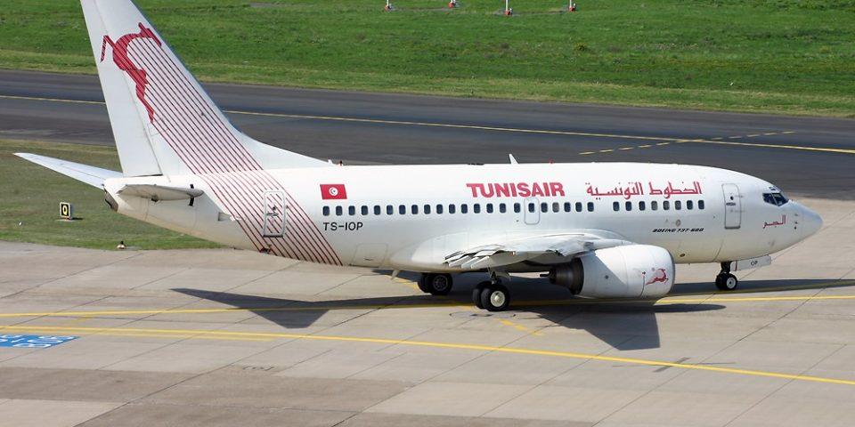 TS-IOP, Tunisair, B737-500