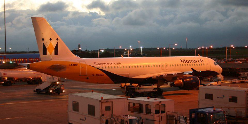 G-MONX, Monarch, A320