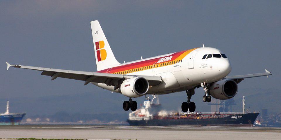 EC-JVE, Iberia, A319