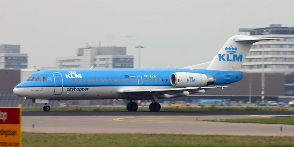 PH-KZK, KLM cityhopper, Fokker 70