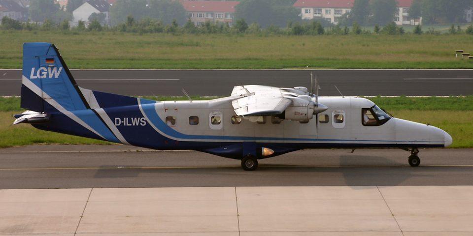 D-ILWS, LGW, Do-228