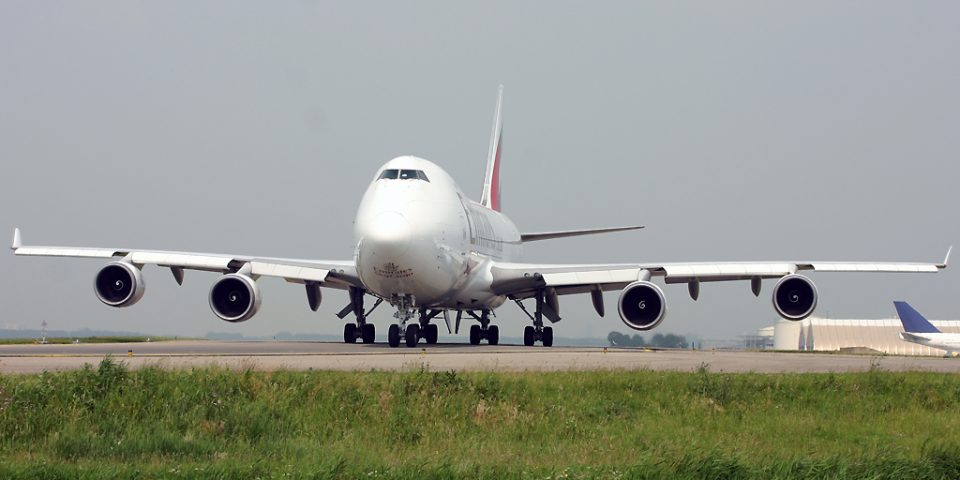 N498MC, Emirates, B747-400F
