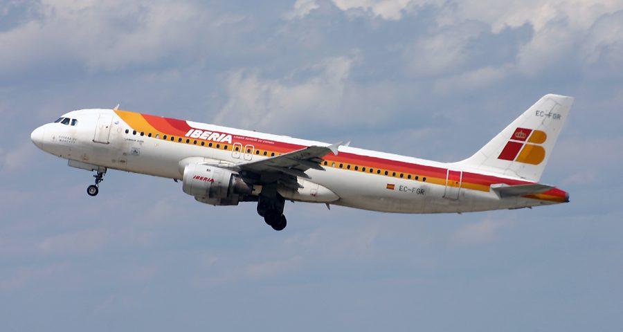 EC-FGR, Iberia, A320