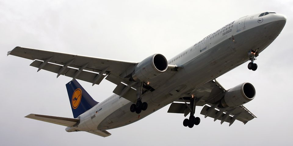 D-AIAH, Lufthansa, A300