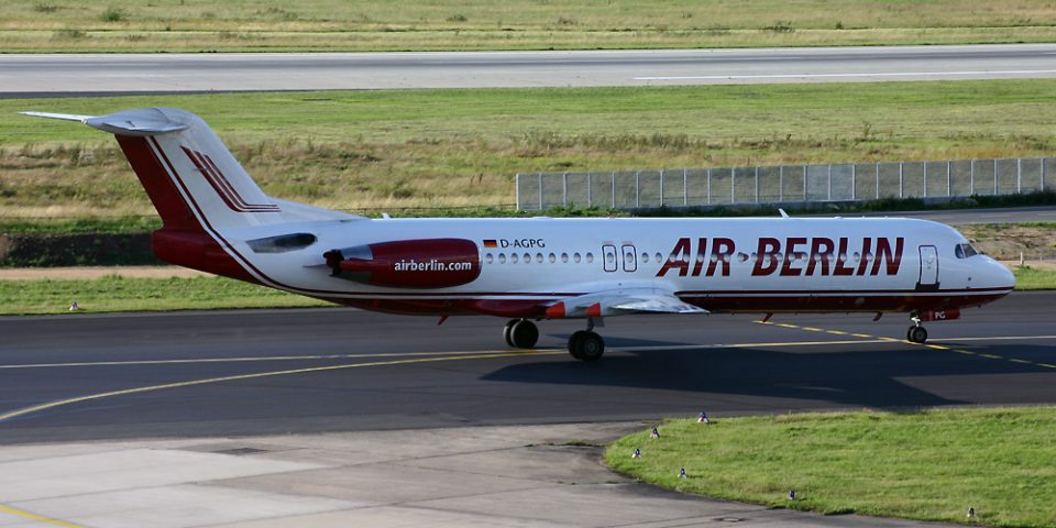 D-AGPG, Air Berlin, Fokker 100