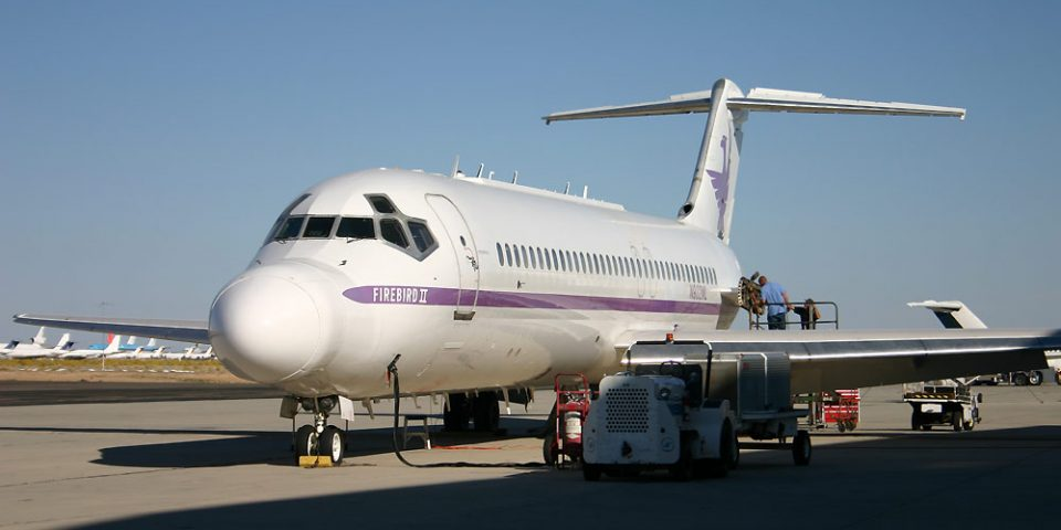 N932ML, US Air Force, DC-9