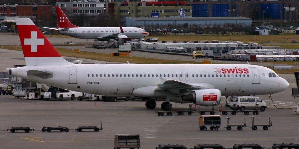 HB-IJO, Swiss, A320