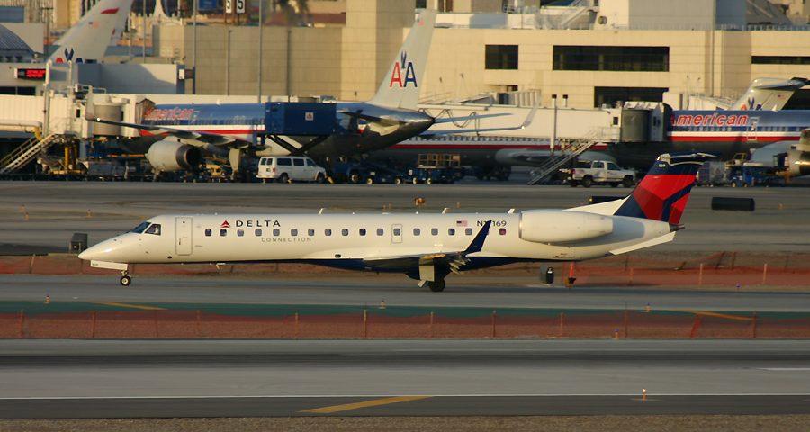 N14169, Delta, Embraer 145