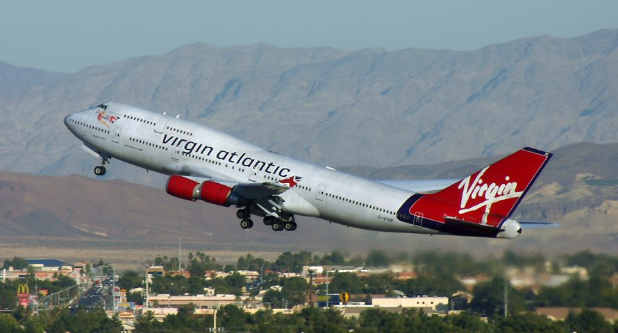 G-VTOP, Virgin Atlantic, B747-400