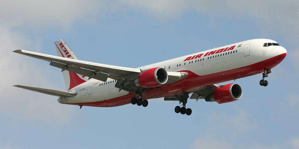 G-CEFG, Air India, B767-300