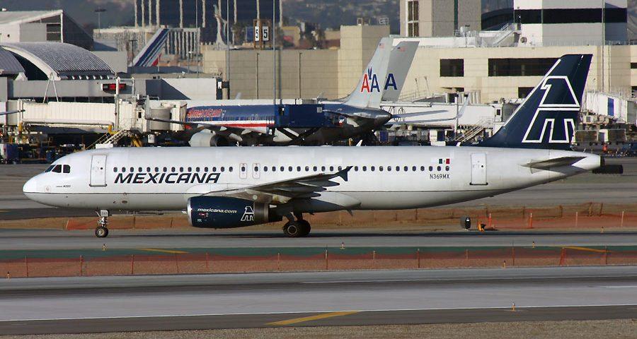N369MX, Mexicana, A320