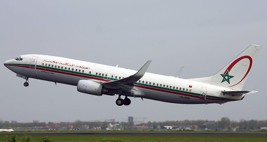 CN-RNW, Royal Air Maroc, B737-800
