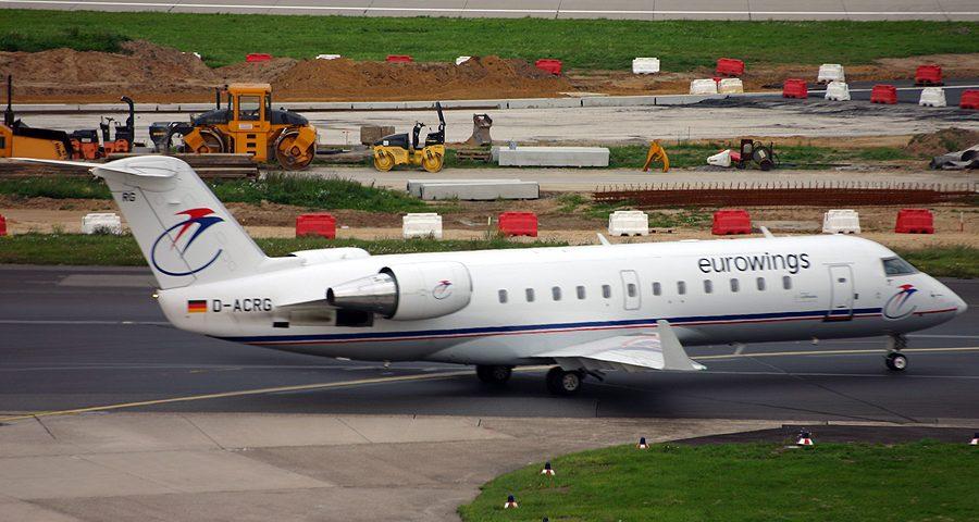D-ACRG, Eurowings, CRJ-200