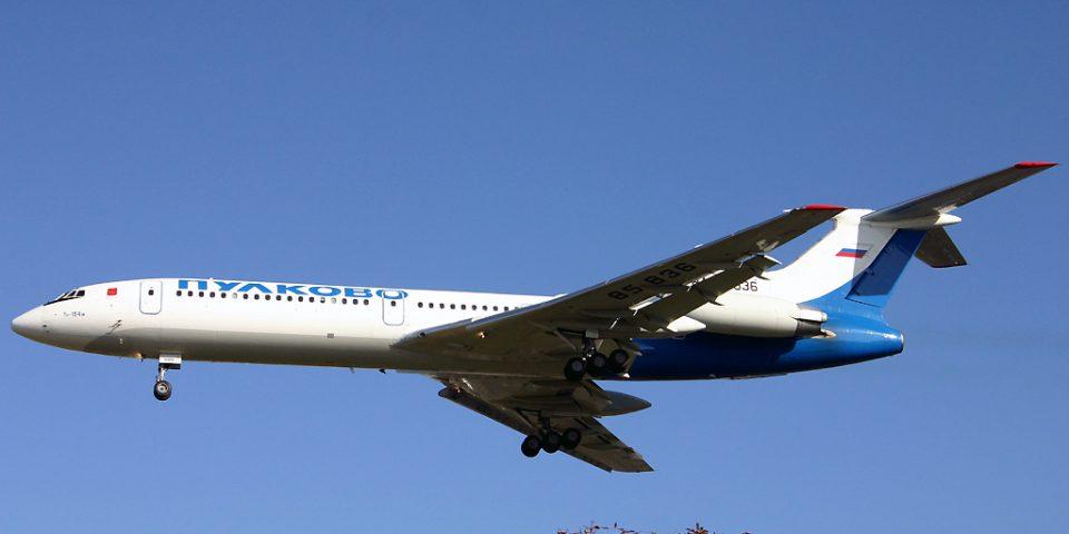 RA-85836, Pulkovo, Tu-154