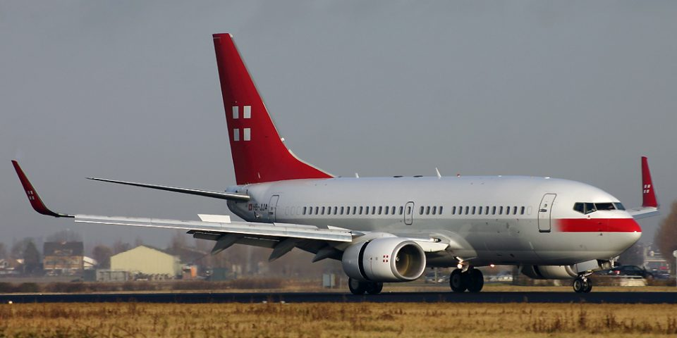 HB-JJA, Privat Air, B737-700 BBJ