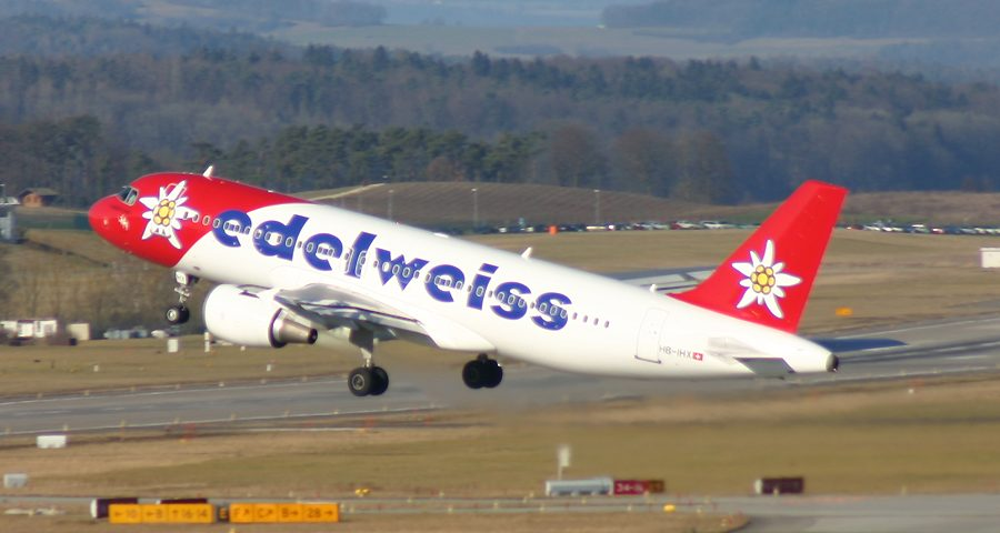 HB-IHX, Edelweiss, A320