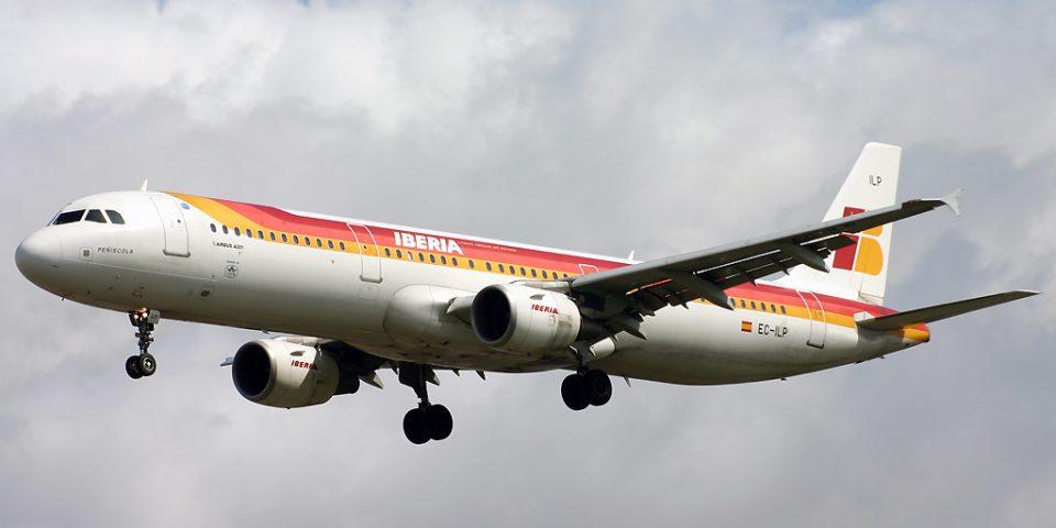 EC-ILP, Iberia, A321
