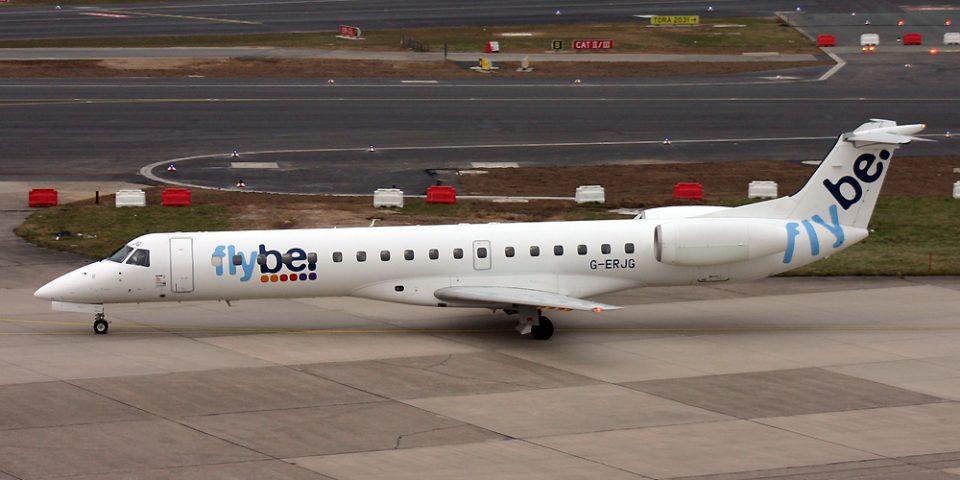 G-ERJG, FlyBE, Embraer 145