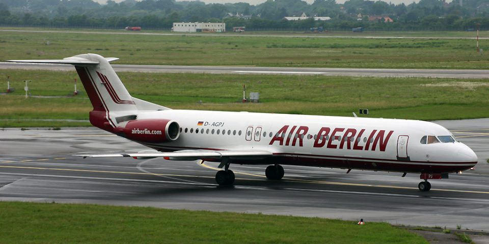 D-AGPJ, Air Berlin, Fokker 100