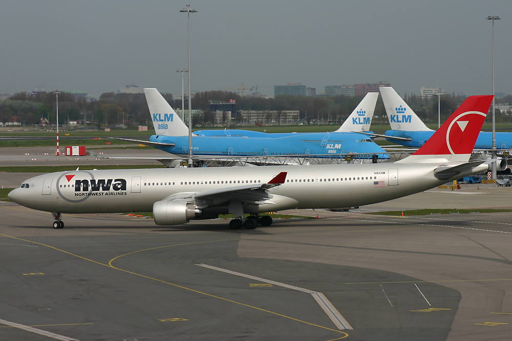 N816NW, Northwest, A330-300