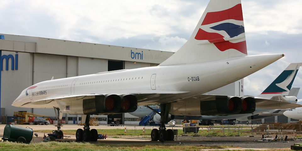 G-BOAB, British Airways, Concorde