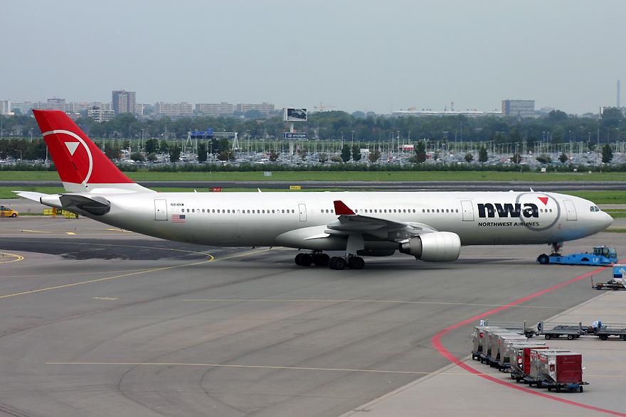 N814NW, Northwest, A330-200