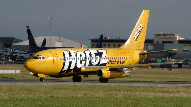 EI-CJC, Ryanair, B737-200, Hertz cs.