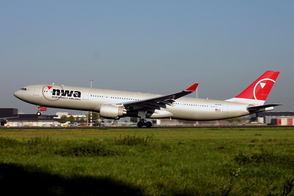 N808NW, Northwest, A330-300