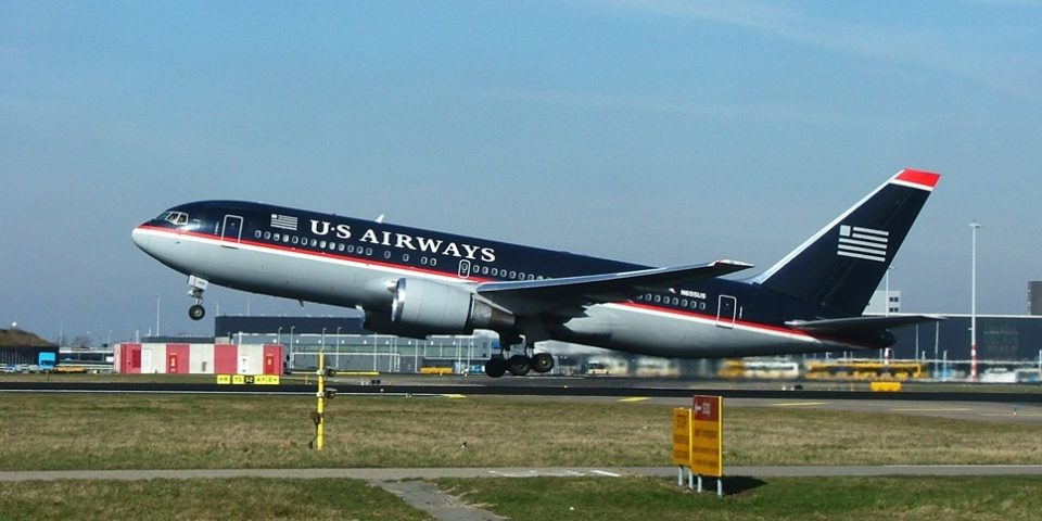N655US, US Airways, B767-200