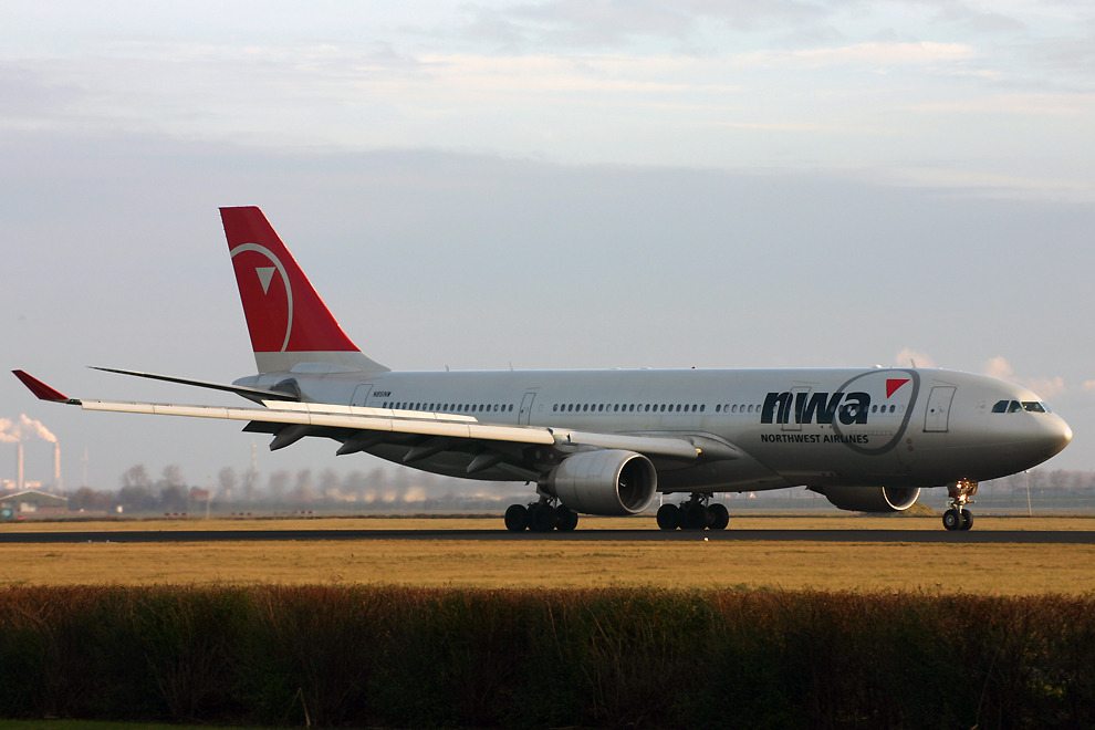 N851NW, Northwest, A330-200