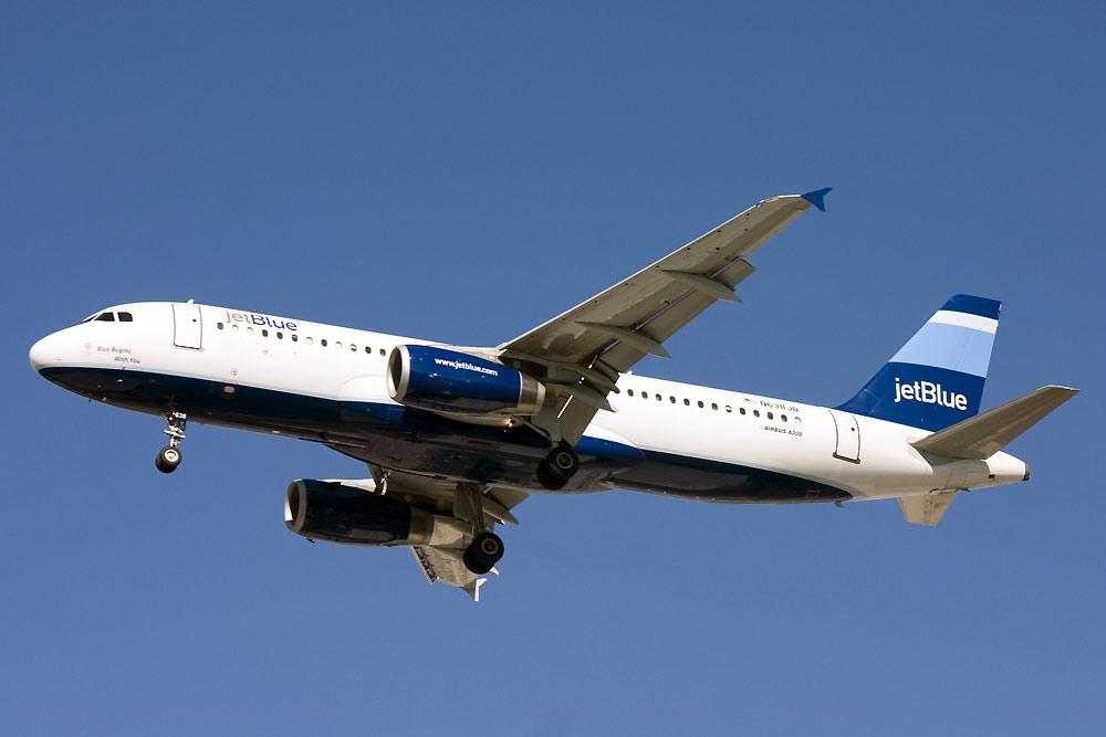 N638JB, JetBlue, A320