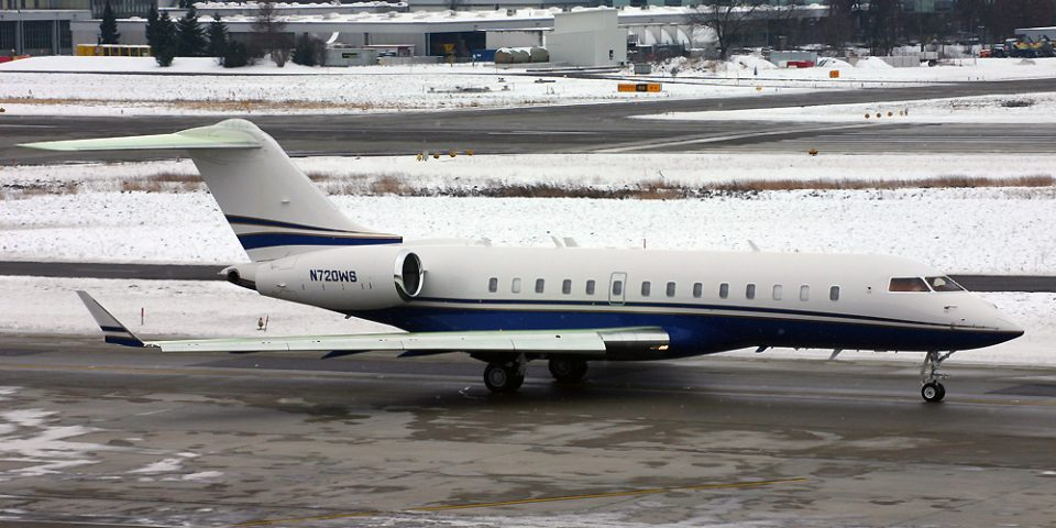 N720WS, Global Express