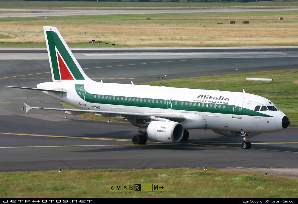 I-BIMO, Alitalia, A319