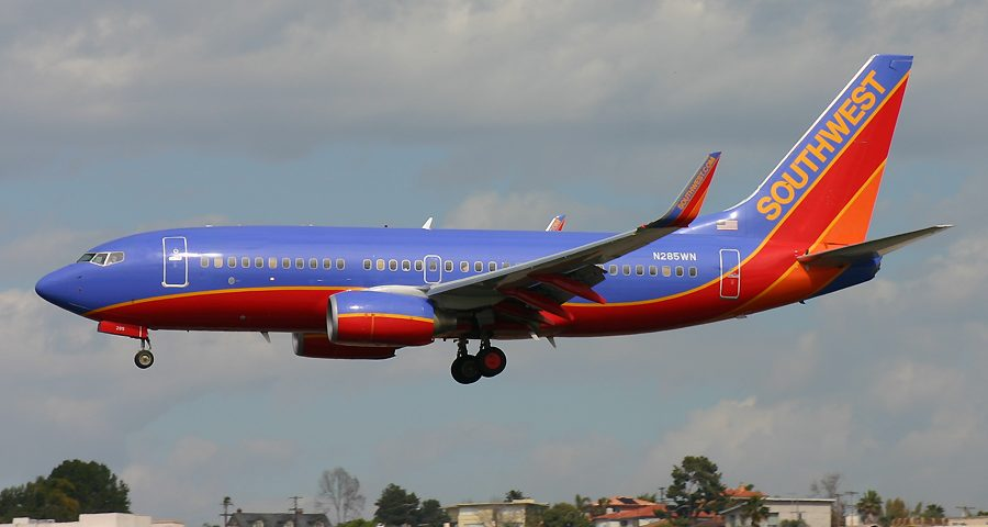 N285WN, Southwest, B737-700