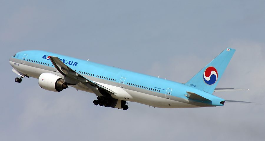HL7526, Korean Air, B777-200